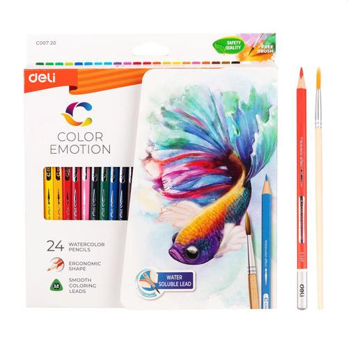 Colouror Emotion Water Colour Pencil Pk24