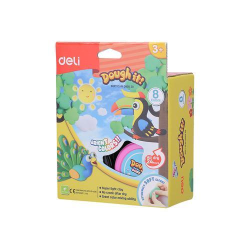 Dough-It Super Light Soft Clay 8 Colours