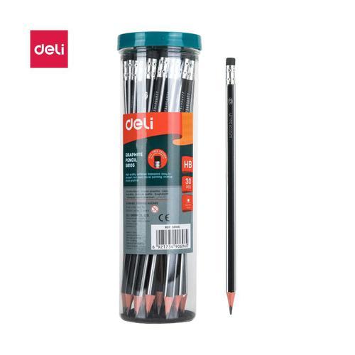 Deli HB Graphite Pencil Tub30