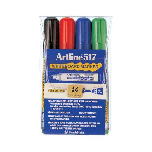 Artline 517 Dry Wipe Marker Bullet Wallet 4