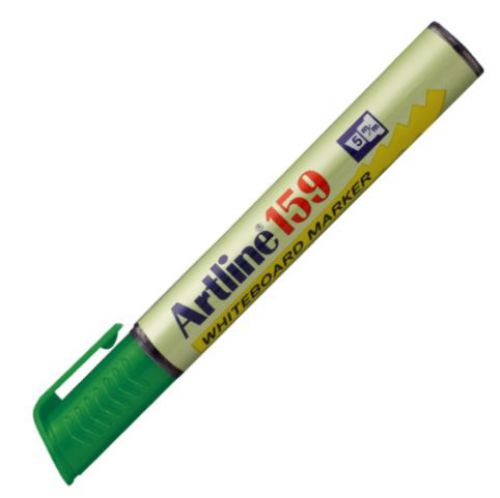 Artline 159 Dry Wipe Marker Chisel Green