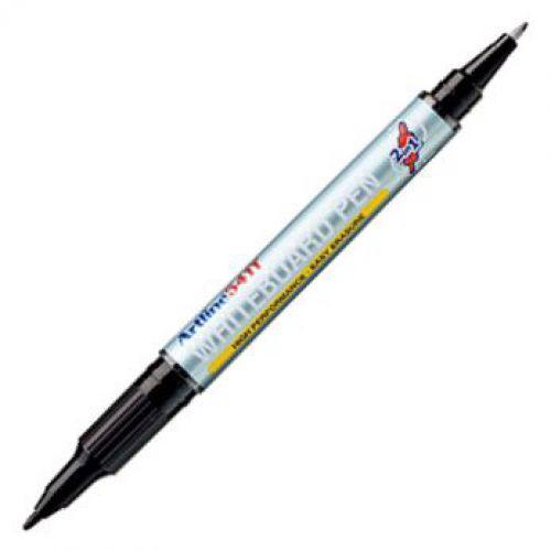 Artline 541T Whiteboard Pen Twin Tip Black