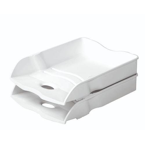 Han Re-Loop Letter Tray A4 White
