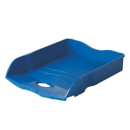 Han Re-Loop Letter Tray A4 Blue