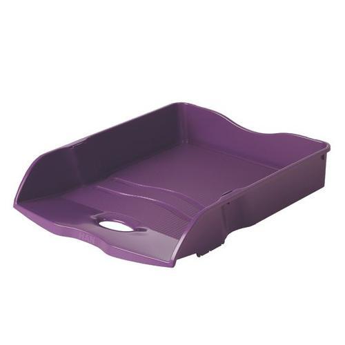 Han Re-Loop Letter Tray A4 Purple