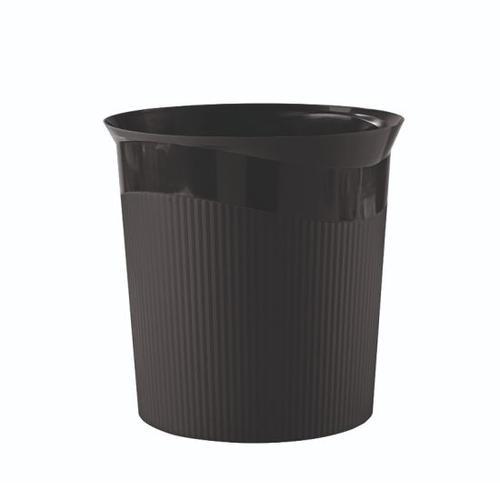 Han Wastepaper bin Re-Loop 13L Black