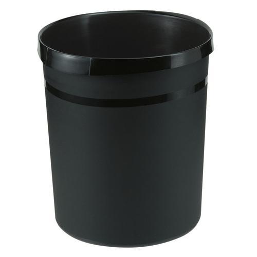 Han Wastepaper bin Grip 18L Black