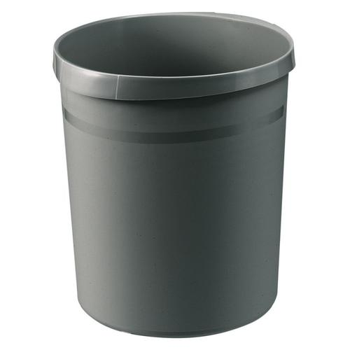 Han Wastepaper bin Grip 18L Dark Grey