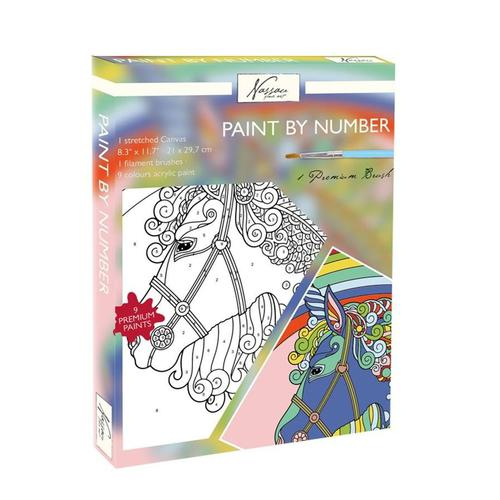 Fine Art Paint by Numbers - Unicorn
