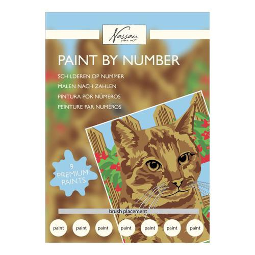 Fine Art Paint by Numbers - Cat