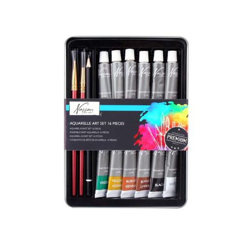 Fine Art Aquarel Tin Set 12 Tubes