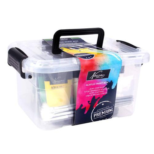 Fine Art Acrylic Paint Box