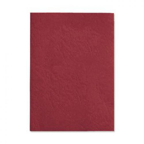 Pavo Leatherboard covers A4 270gsm red