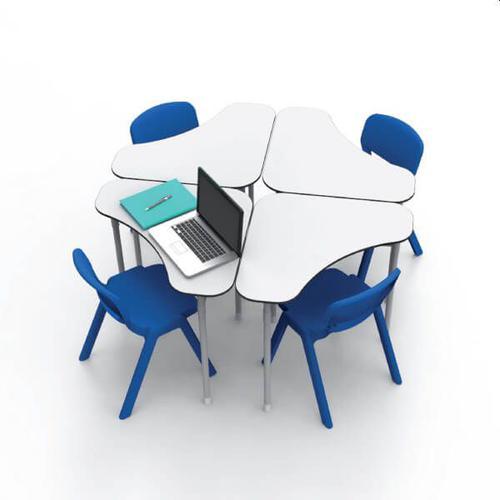 Desk 21 Adaptable School Desk 70x70cm