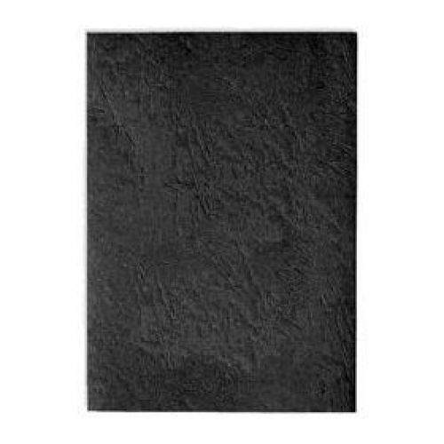 Pavo Leathergrain Covers A4 250gsm Black Pk25