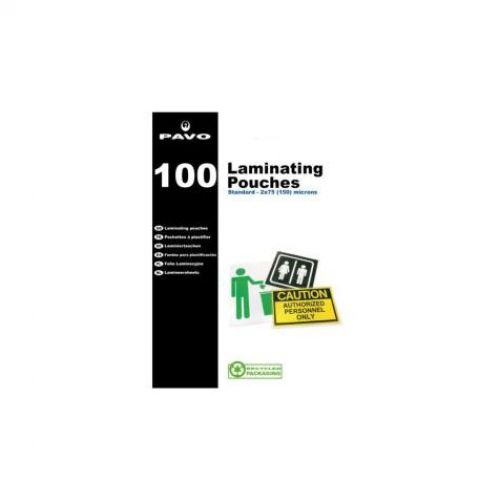Pavo Laminating Pouch A7 250 mic Bx100