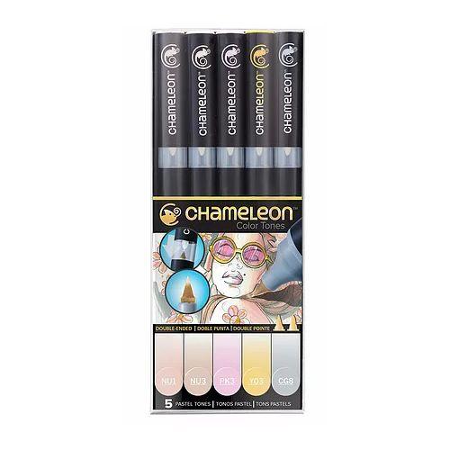 Chameleon 5 Pen Set Pastel Tones