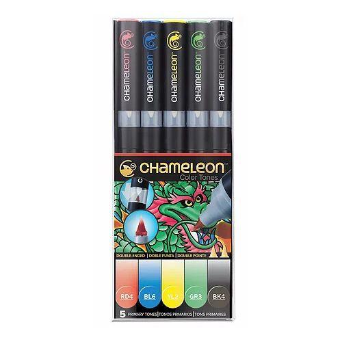 Chameleon 5 Pen Set Primary Tones