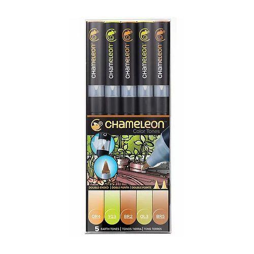 Chameleon 5 Pen Set Earth Tones