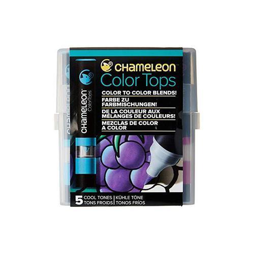 Chameleon 5 Colour Top Set Assorted Cool Tones