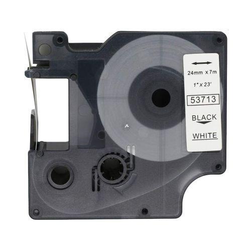 Compatible Tape 24mm Black/White