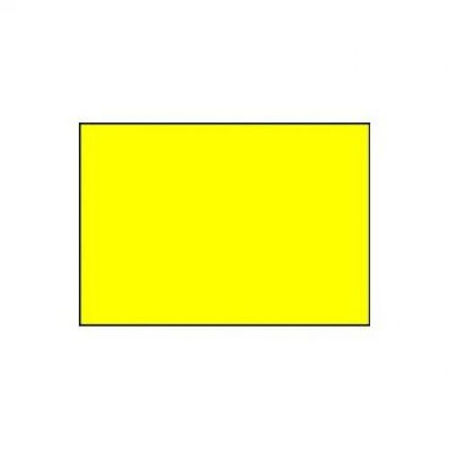 Sato 26x16mm Removeable Label Yellow Rectangular 1200S Bx13