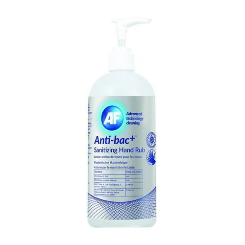 AF Hygienic Sanitising Hand Rub For Removing Bacteria