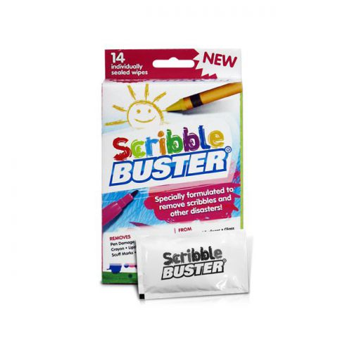 Scribble Buster Wipes box of 14