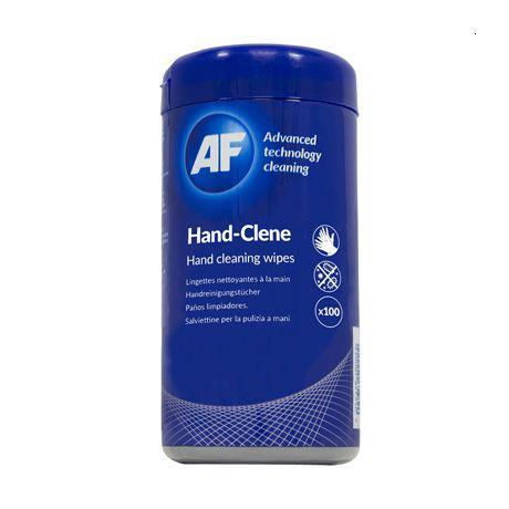 AF Hand-Clene wipes Tub 100