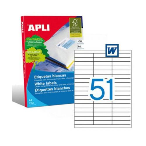 Apli 1294 Laser/Copier Labels 51up