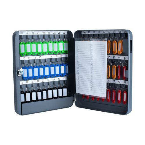 Pavo Key Cabinet 54 keys Dark Grey