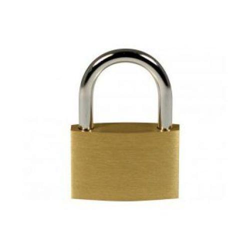 Pavo Brass Padlock 40mm 3 Key Carded