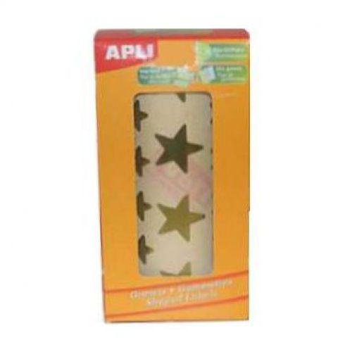 Apli Stars big & small gold 2,360pcs