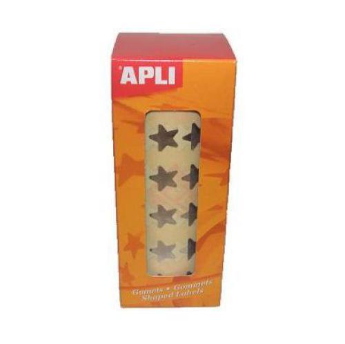 Apli Stars big & small silver 2,360pcs