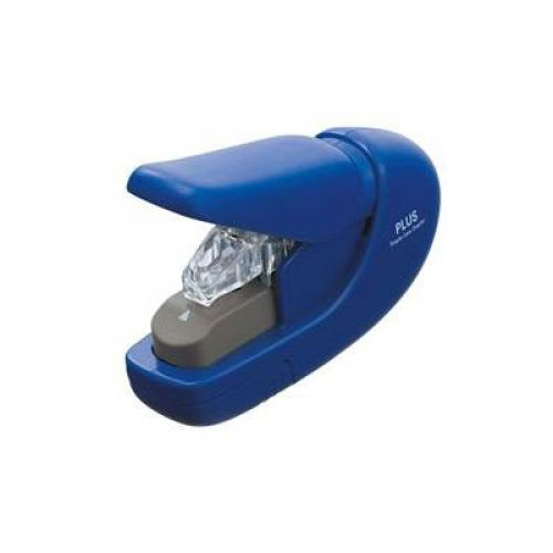 Plus Staple-Free Stapler blue