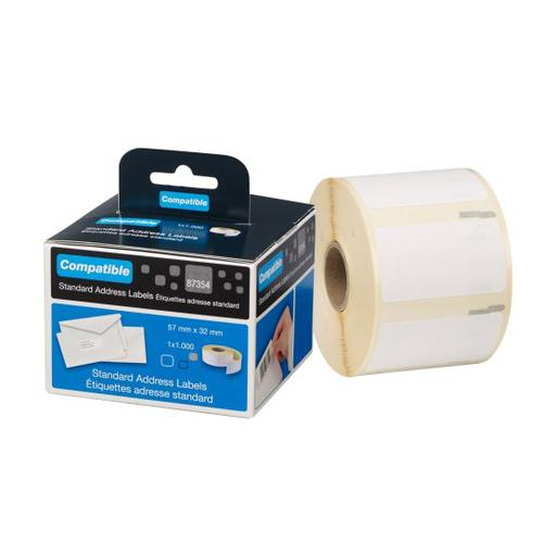 Dymo Cmpa 11354 label 57x32mm Bx1