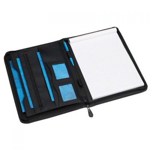 Excellent De Luxe A4 Writing Case Black