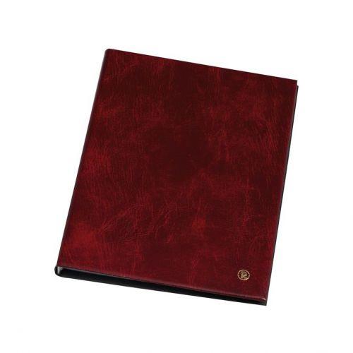 Rillstab Display Book 10 Pocket Burgundy