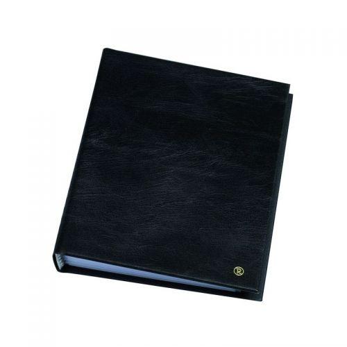 Rillstab Display Book 10 Pocket Black