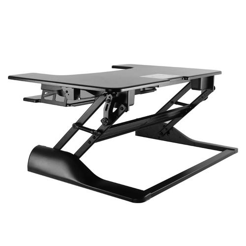 NewStar Sit-Stand Workstation Black