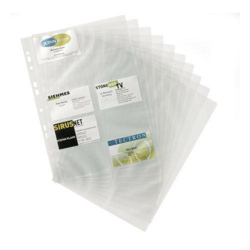 Visifix Business card Pockets Pk10