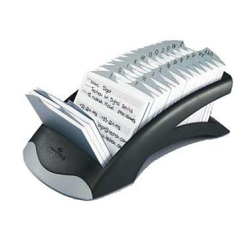 Durable Telindex Desk Silver