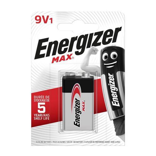 Energiser Max 6LR61 9v Battery Bx12