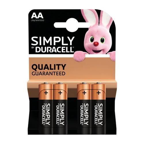 Duracell Simply battery AA B4 Bx10