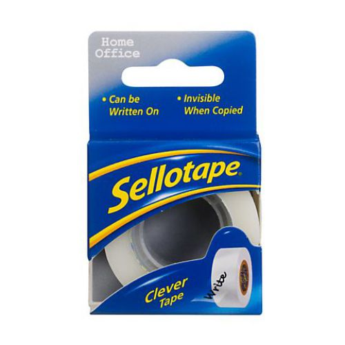 Sellotape Clever Tape 18mm x 25m carded