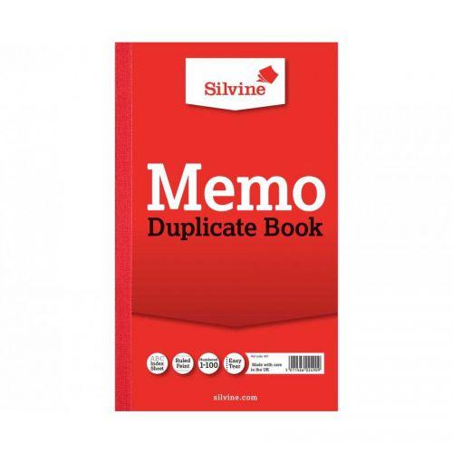 Silvine, 601 Duplicate Book 8x5