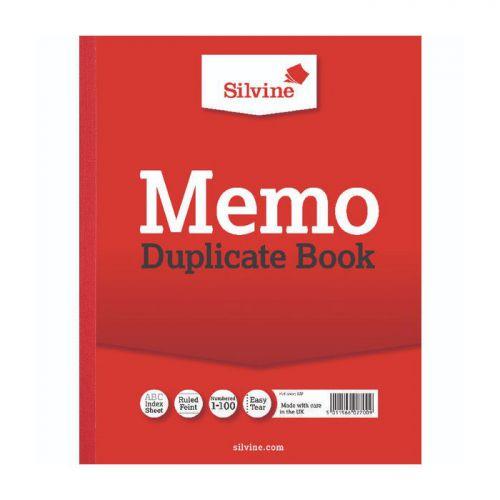 Silvine, 602 Duplicate Book 10x8