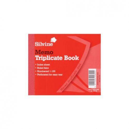 Silvine, 607 Triplicate Book 4x5