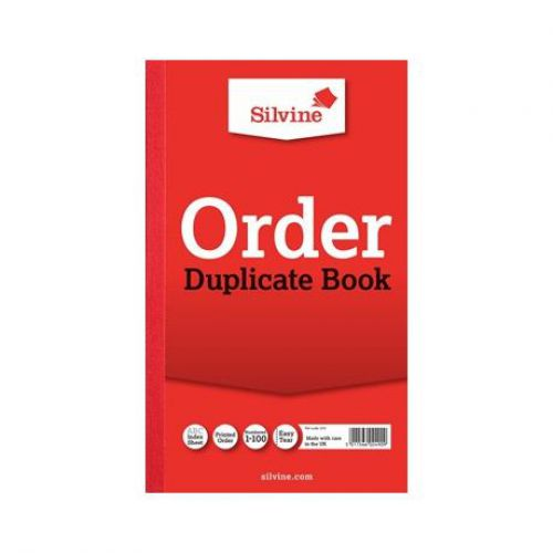 Silvine, 610 Order Book 8x5