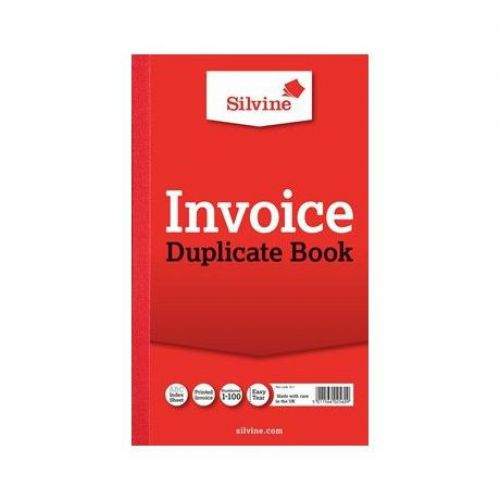 Silvine, 611 Invoice Book 8x5
